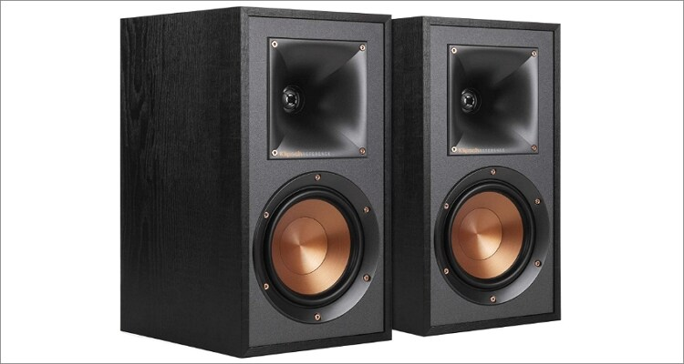 Klipsch R-41M Powerful Derailed Bookshelf Home Speaker Set