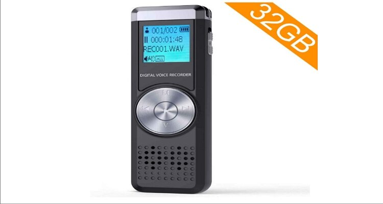 TENSAFEE Dictaphone Sound Activated Recorder