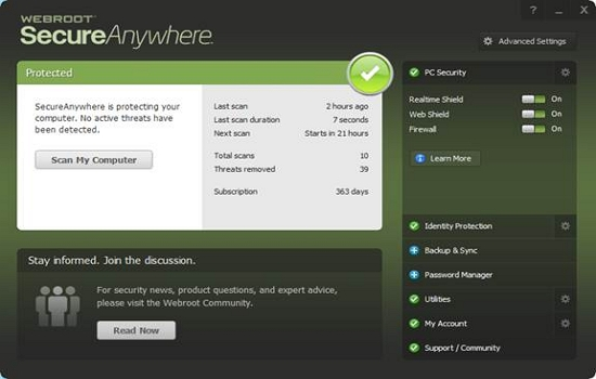 free antivirus software for pc