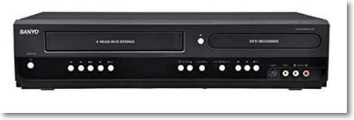 Sanyo FWZV475F DVD Recorder/VCR Combo