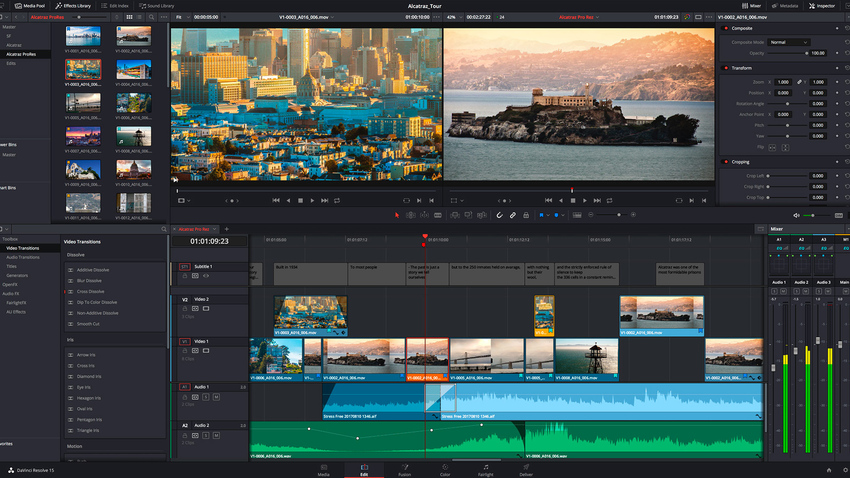 Video Effect Editor-DaVinci Resolve 16
