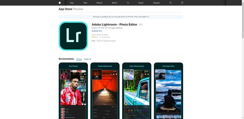 Video Filter Editor-Lightroom
