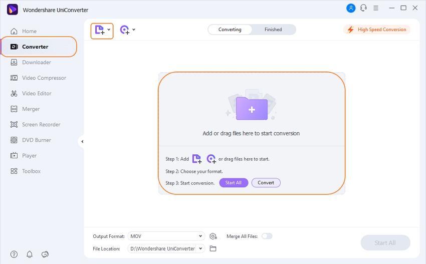 click convert all button-UniConverter