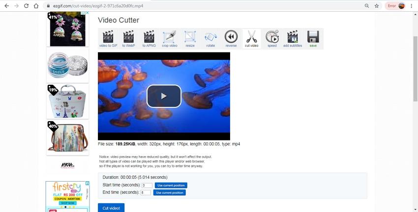 mp4 editor online-EZGIF