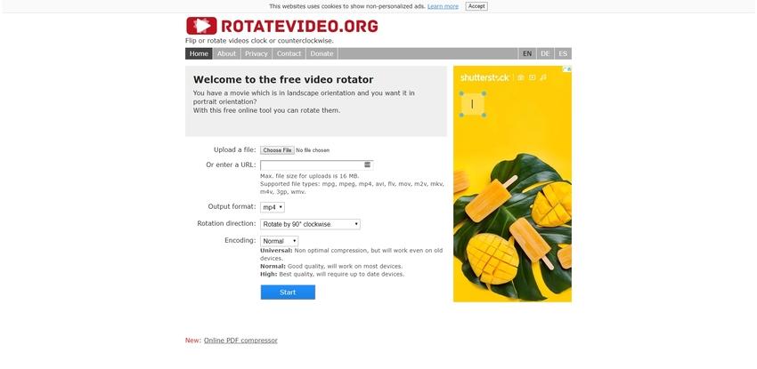3GP Rotator Tool-RotateVideo