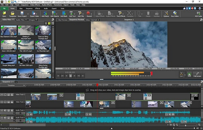 how to speed up a video with one software