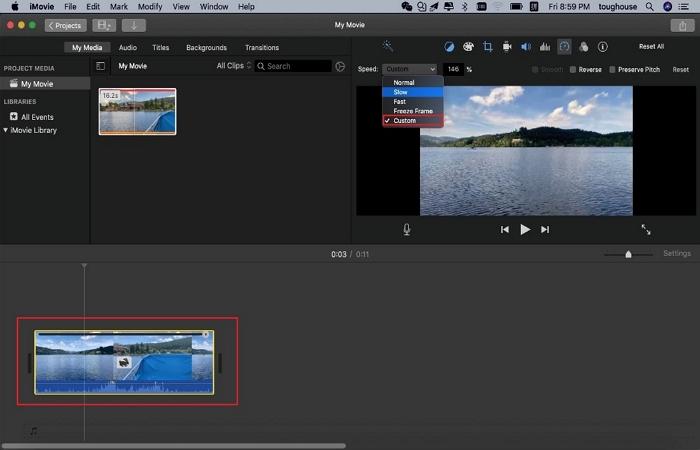 make video faster