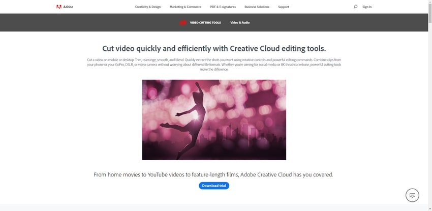Adobe Video Cutting Tools