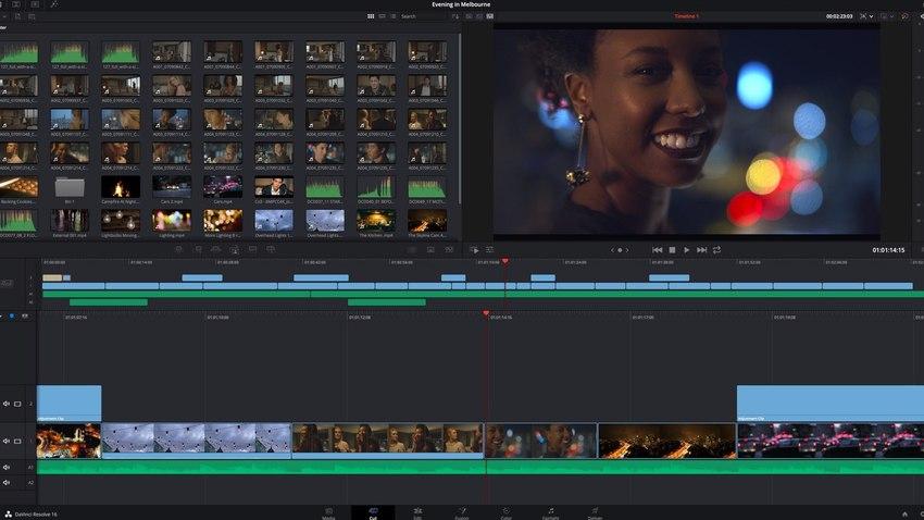 Video Editing for Mac-Davinci Resolve 16