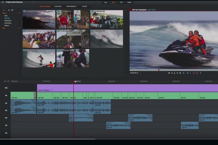 Mac Video Editor-Lightworks