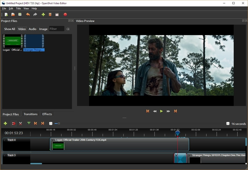 Macbook Video Editing-Openshot