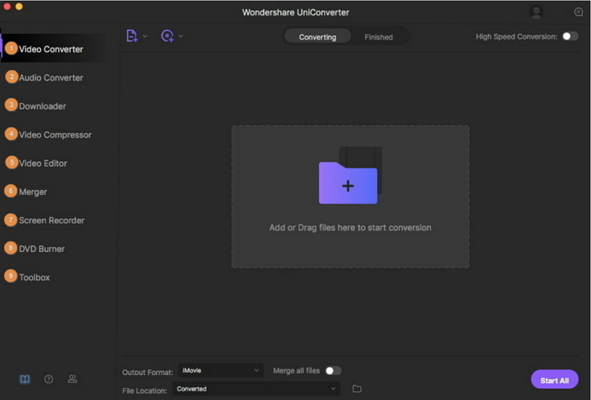Free Movie Editing Mac-Uniconverter