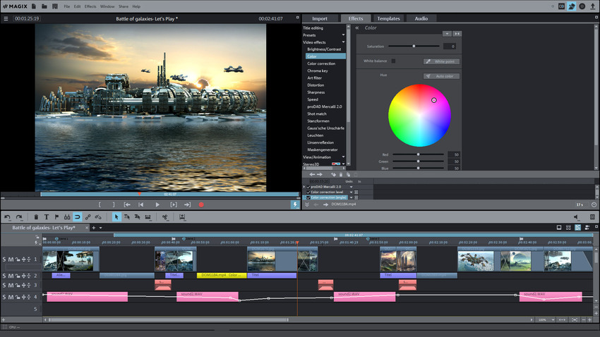 Best Movie Editing Tool-Magix