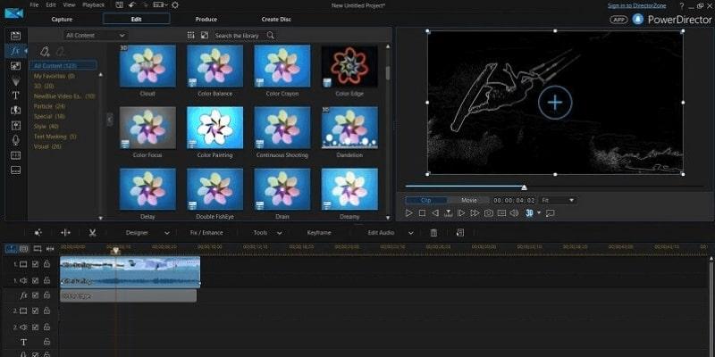 Free Film Editor-PowerDirector