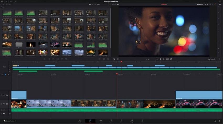 Best Video Editing for Windows-DaVinci
