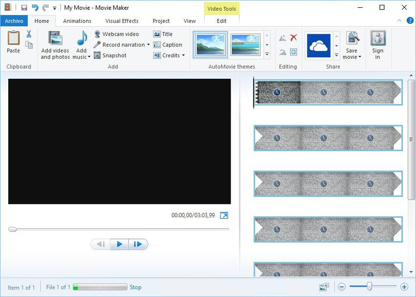Video Editing Software Windows-Windows Movie Maker