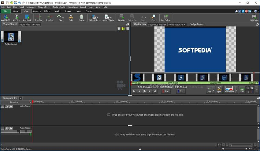 Video Editing Tool for Windows-VideoPad