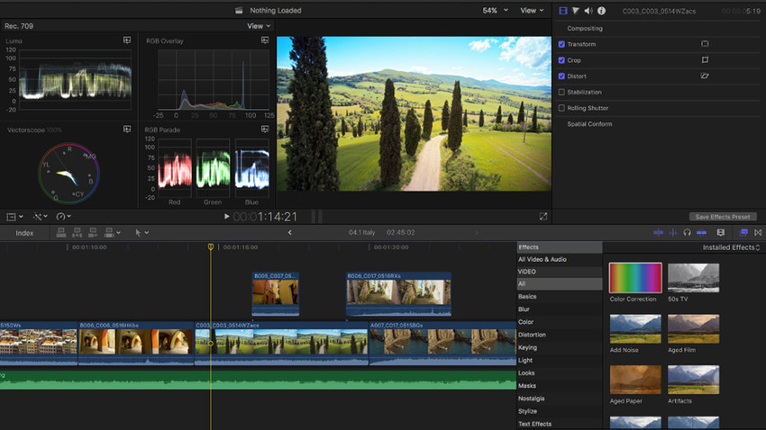 Enhance Video Quality-Final Cut Pro X