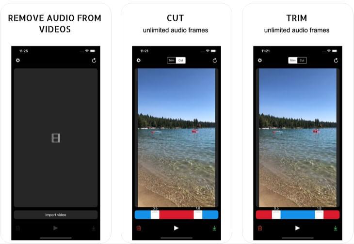 video muter app ios - 2