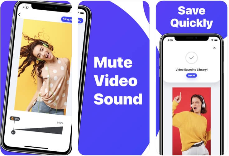 video muter app ios - 4
