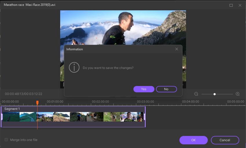 Trim or Cut Video in UniConverter