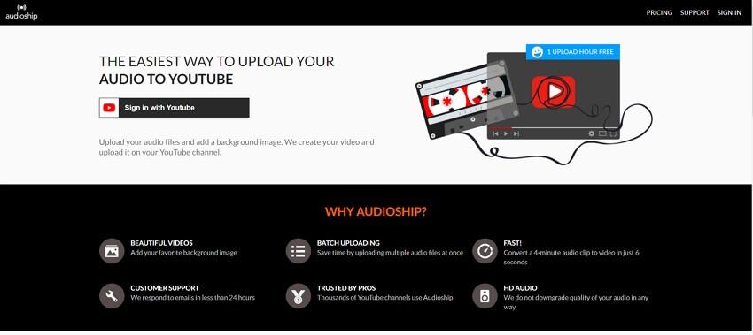 AudioShip interface