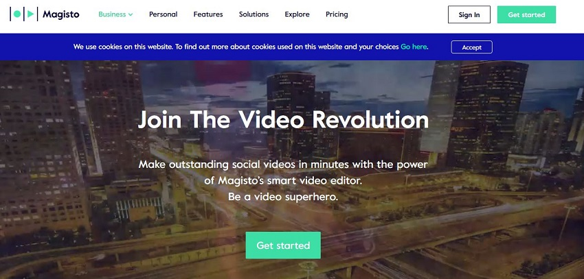 Youtube Video Editing Online Tool-Magisto
