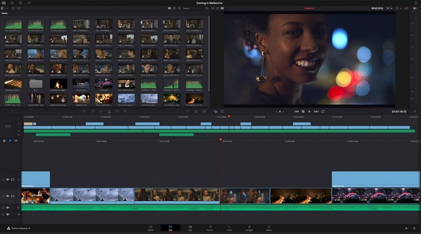 Youtube Video Editor-DaVinci Resolve 16
